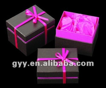 promotional chocolate box