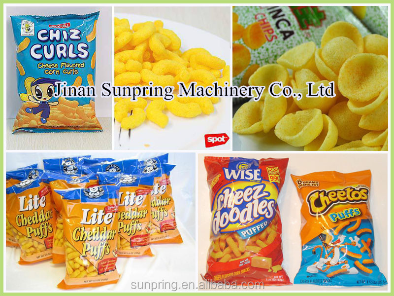 Automatic snacks food machine