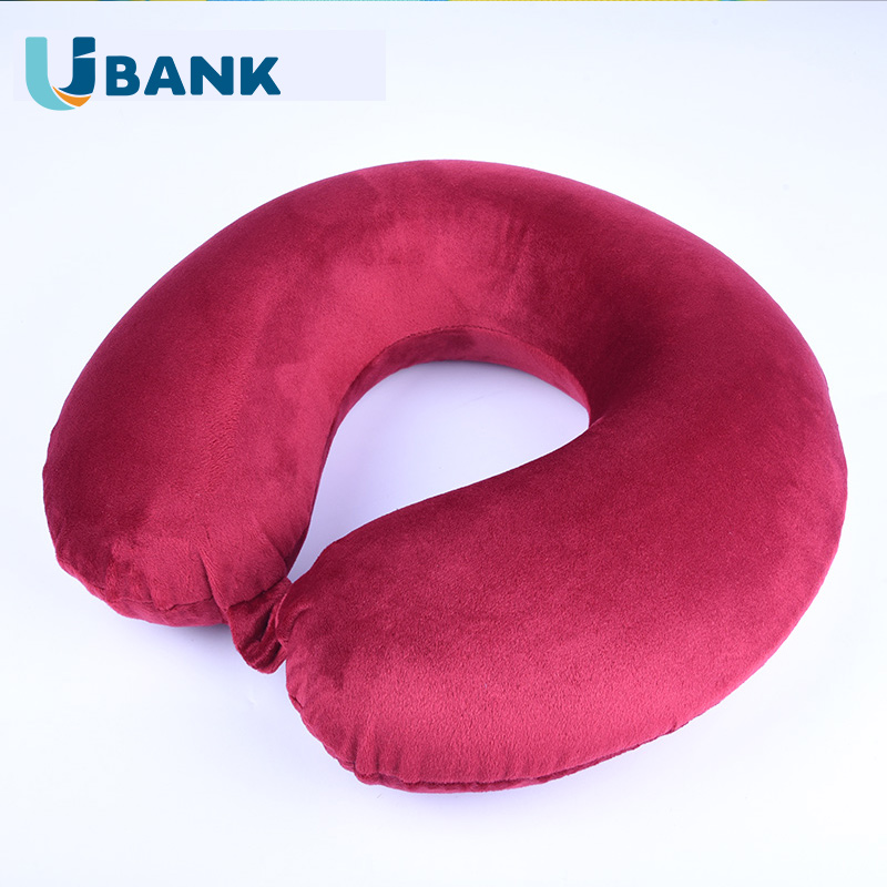 Wholesale Customized Neck Support Memory Foam Travel Pillow