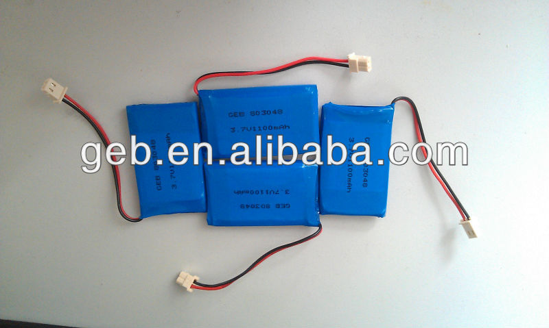 li-ion battery pack 3.7v,3.7v 1100mah lipo battery,li ion battery 3.7v 1100mah