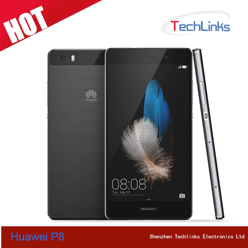International Version Huawei P8 Lite 4G Lte Android 5.0 Octa Core 2GB 16GB Dual Sim 13MP Camera 5.0 inch Mobile Phone