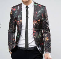 Custom Full Print Polyester Viscose Men