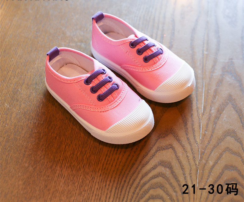 C74840A New Arrived Babies Boys Denim Cotton Canvas Fashion Kids Shoes