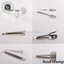 Kitchenware Function Of Food Tongs Food Grade Clamp Stainless Steel Food Tongs Serving Tongs