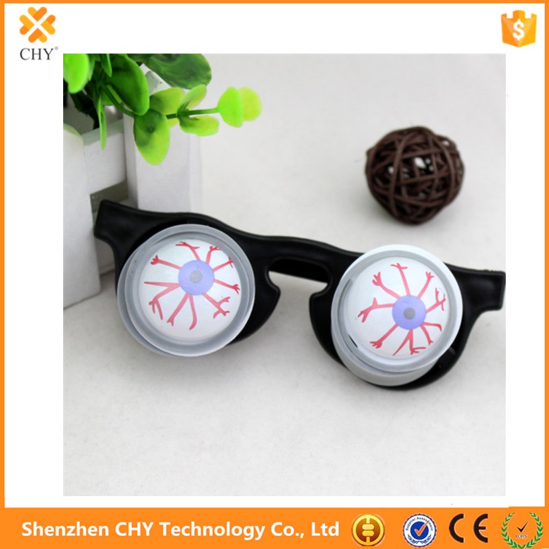 Protruding eyes glasses Halloween funny April Fool's day trick funny toy spoof off eye