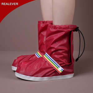 Wholesale rubber galoshes waterproof rain boots covers overshoes rain shoe cover
