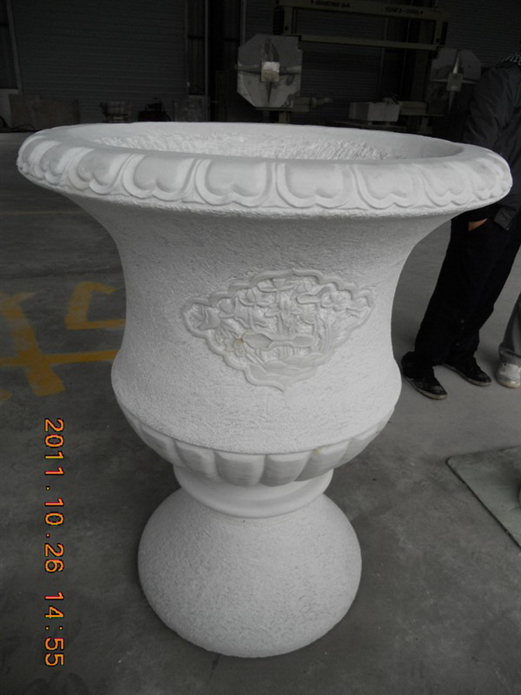 China natural hot sales custom chinese white marble slab house decor