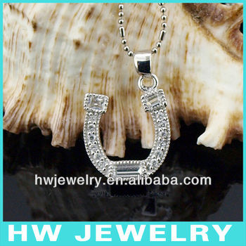 silver jewelry horseshoe