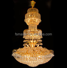 luxury crystal chandelier lighting for lobby hotel home use