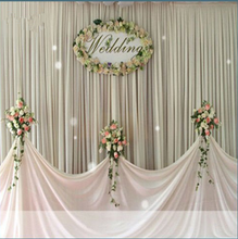 Wedding stage backdrop stand pipe and drape event aluminum stand for wholesale