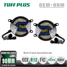 Best selling day time round LED mitsubishi lancer fog light with Emark