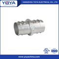 flexible combination conduit zinc screw-in coupling