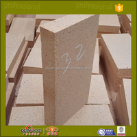 32mm thin refractory fire clay brick for cement industry kiln