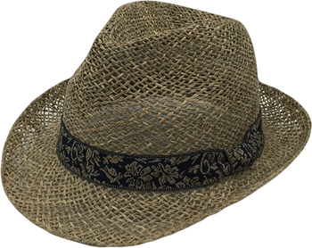 Fedora Seagrass Hat Braid 2 1/2 ''brim Fashion Hat