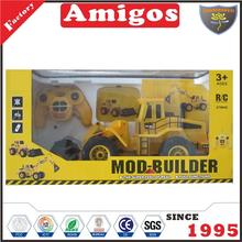 kid toy 6 channel bulldozer RC engineering vehicle for child
