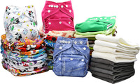 Ohbabyka new arrive waterproof one size baby diapers cloth diapers wholesale uk market