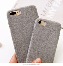 Simple atmospheric flannelette Hockey is microfiber PU Skin Cover <strong>Phone</strong> Case for Apple iphone 6 7 <strong>Phone</strong> Cover Case