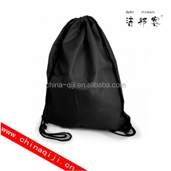 cotton gym drawstring shoe bag