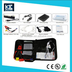 car battery jump starter connect jumper cables to jump start 6L gas car China Supplier