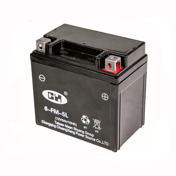 Alibaba Online Sale 12V 5Ah Lightweight Motorcycle Battery