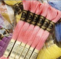 diy thread waving high quality dmc color cotton thread