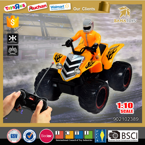 Newest 1:10 rc motorcycle toy for kids