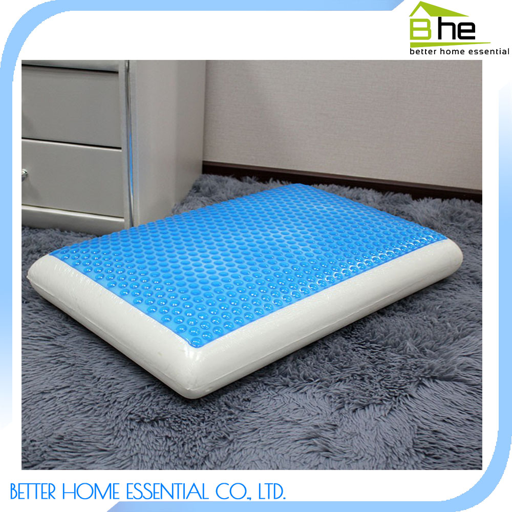 Traditional Silicone Cooling Gel Memory Foam Pillow
