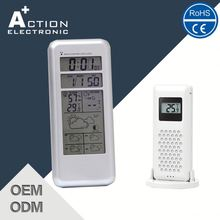 Multifuction 5 days Radio Controlled Weather Station Clock with RF