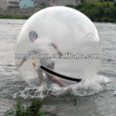 inflatable running human hamster water balls