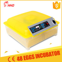 Mini 48 Carton packing with foam inside automatic egg incubator for sale YZ8-48