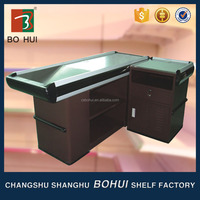 Clothing store fashionable reception counter table/boutique cashier counter desk