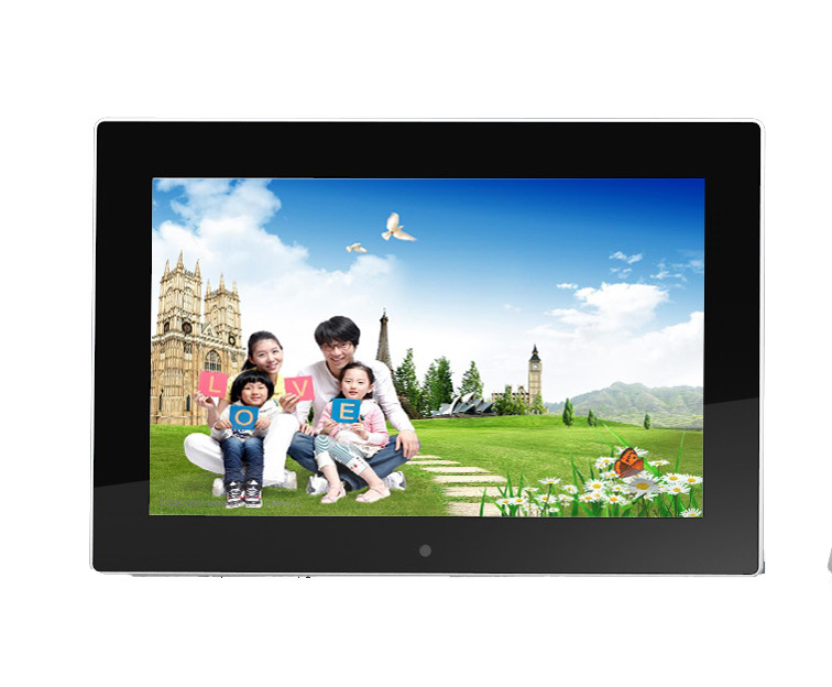 "Best-selling 10.1"" Slim Wi-Fi Digital Photo Frame, Email, Facebook/Dropbox/Instagram/Flickr/Picasa"
