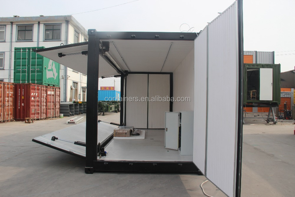 Qingdao 20hq flying hydraulic container