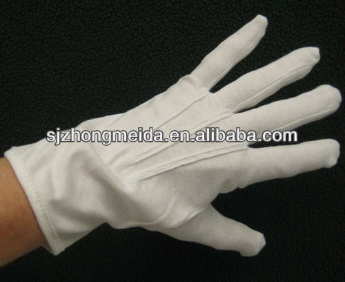 military navy police ceremony waiter worker white cotton gloves