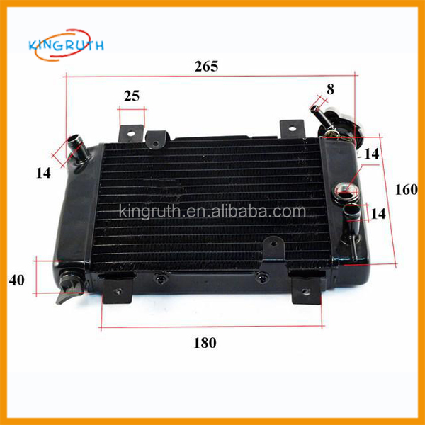 250cc ATV Radiator Water Tank For Quad