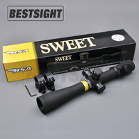 BSA 3.5-10X40 M1 Optics Riflescope Red And Green Dot Reticle Fiber Optics Sight Long Eye Relief Rifle Scope For Hunting