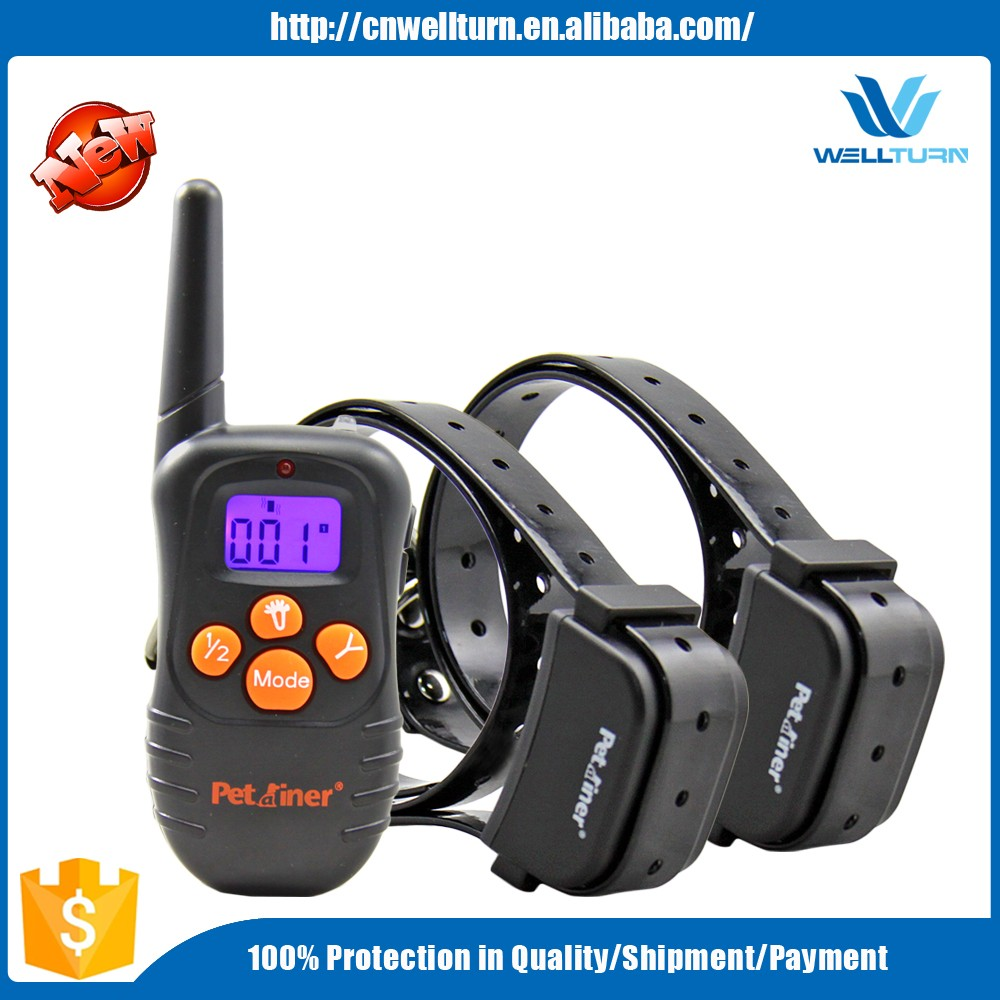 Pet Training Electronic Dog Vibration Beep Collar Best Two Dogs Stop Bark Vibration Beep Training Waterproof Collar Bark Dog Tra