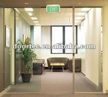 commercial automatic sliding glass doors