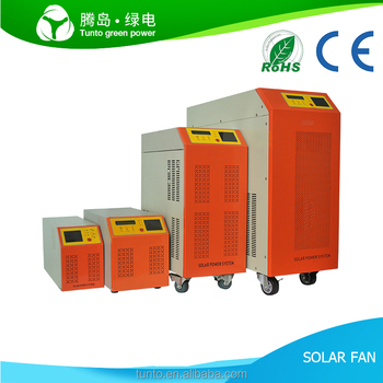 Solar Power System Home, Hybrid Solar Inverter with Mppt Charge Controller