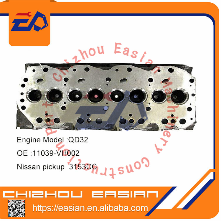 Nissan QD32 Frontier cylinder head OE 11039-VH002 11039-Q2450