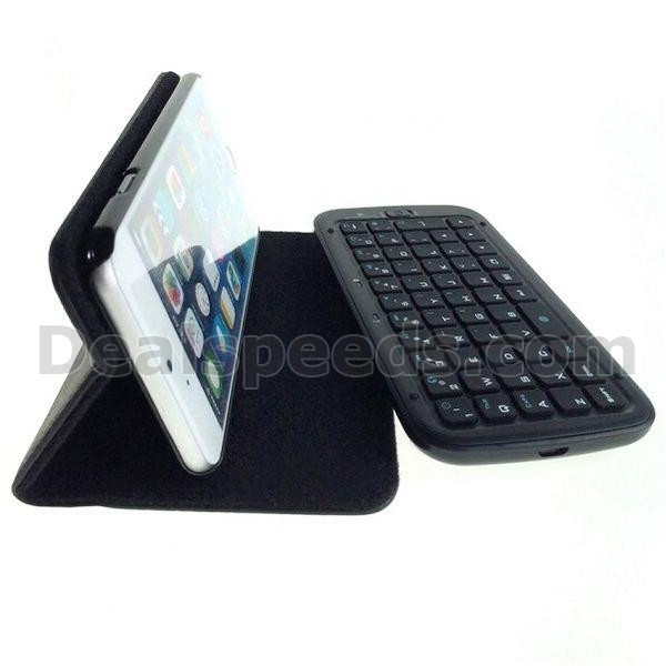 Wireless Flip Stand PU Leather Case Bluetooth Keyboard for iPhone 6 Plus 5.5 inch