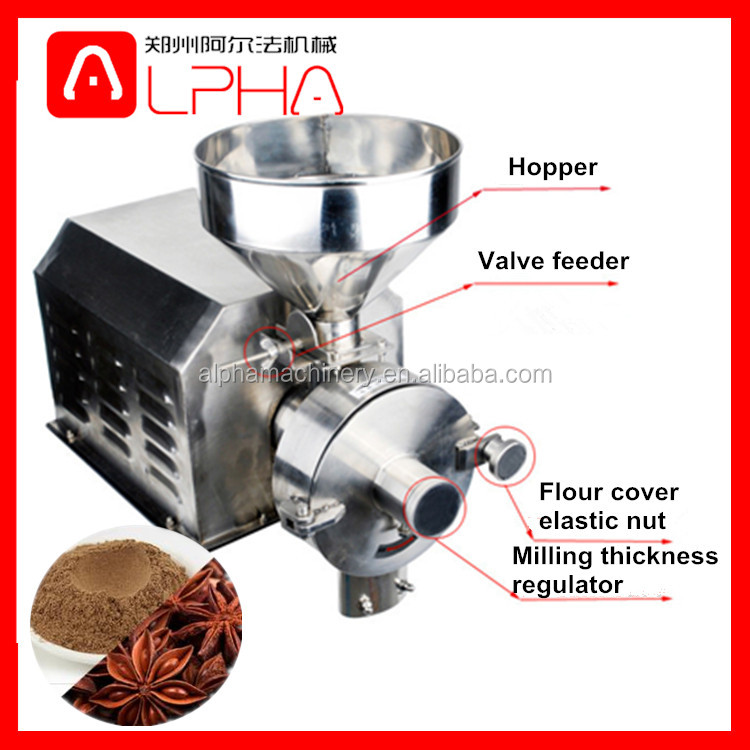 Corn grinder machine/ sugar mill equipment/cocoa grinding machine