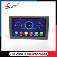3G wifi audio full Touch 7 inch Universal Car Gps Navigations Android OS quad core