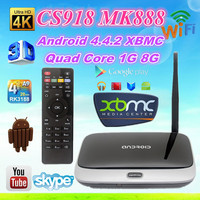 New CS918 Quad Core Android 4.2 Smart TV Box Player XBMC