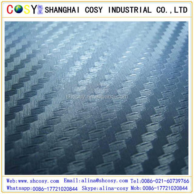 Bubble free carbon fiber vinyl White camouflage car vinyl film