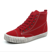 women warm winter vulcanized canvas shoes school wenzhou lady casual shoes