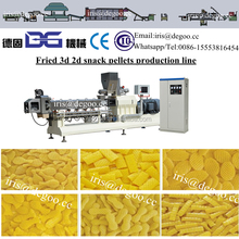 Corn wheat snack pellets 3d 2d production line with different shapes made in China Jinan