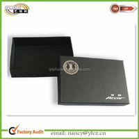 Custom Made Fancy Black Cardboard Cigarette Boxes