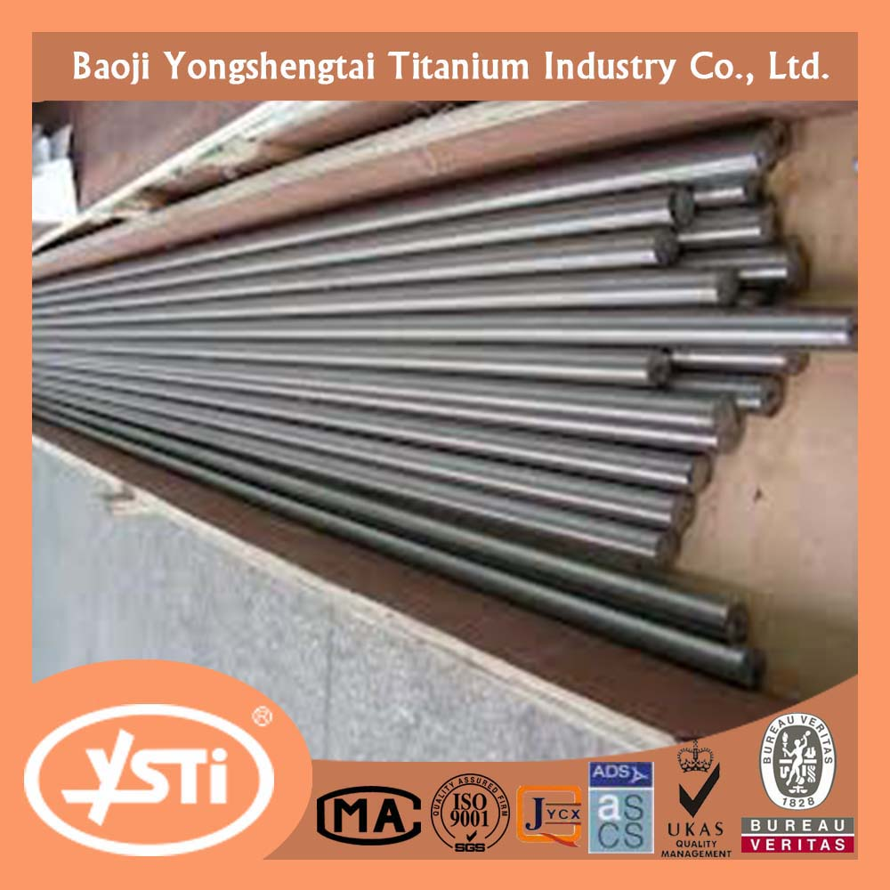 ASTM B348 titanium bar ISO 9001:2008 pure and alloy