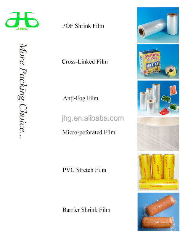 POF Material  shrink bag anti dust film Transparency pof anti dust film